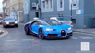Supercars invade London as summer starts - Video