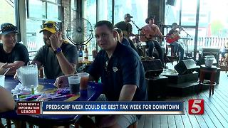 NCVC: Businesses Saw Record Tax Week During CMA, Stanley Cup Final - Video