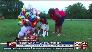 Shooting victims remembered at last night's vigil - Video