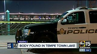 Man found dead in Tempe Town Lake - Video