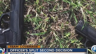 Officer's split-second decision - Video