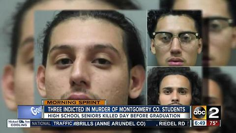 Three indicted in murder of two Montgomery County teenagers
