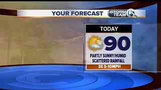 South Florida mid-morning forecast (6/26/17) - Video