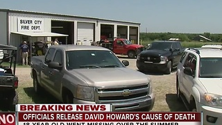 Officials release details from David Howard's death - Video