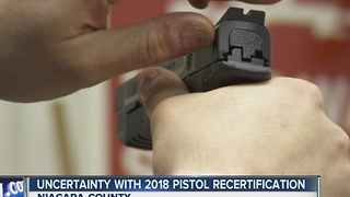 Uncertainty surrounds NYS pistol recertification - Video