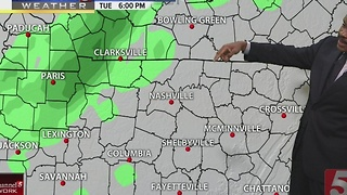 Lelan's Morning Forecast: Monday, January 9, 2017 - Video