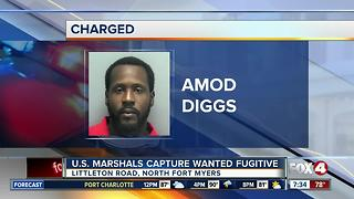 US Marshals Capture Wanted Fort Myers Fugitive - Video