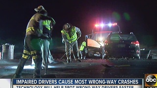 Impaired drivers cause most wrong-way crashes