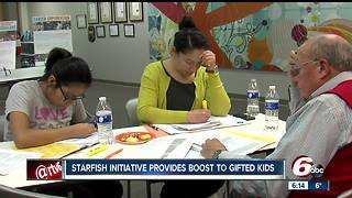 Starfish Initiative provides boost to gifted children - Video
