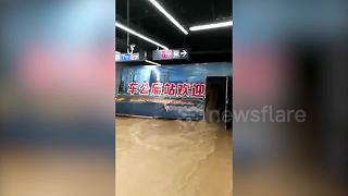 Typhoon Merbok brings flooding to southern China - Video