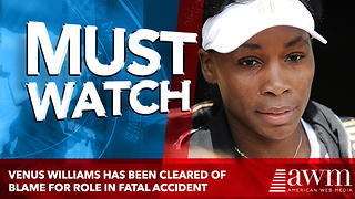 Venus Williams Has Now Been Cleared Of All Blame For Role In Fatal Car Accident - Video