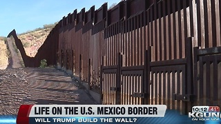 Will President-Elect Trump build a wall between the U.S. and Mexico? - Video