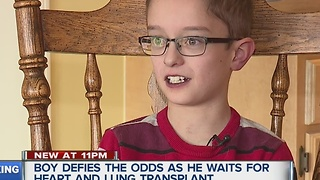 10-year-old is defying the odds - Video
