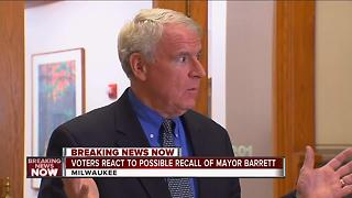 Voters react to possible Mayor Barrett recall - Video