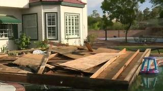 Storm causes damage to Las Vegas homes - Video
