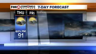 Hot & Humid With PM Storms 6-28 - Video