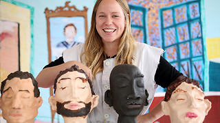 Single Woman Makes Seven Clay 'Boyfriends': MAKING MAD - Video