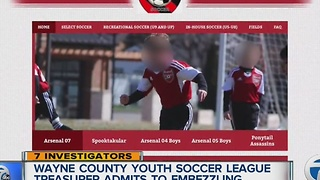 Westland police investigate embezzlement at soccer league - Video
