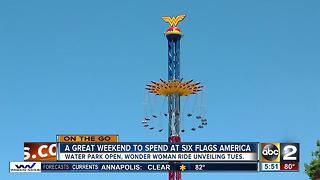 Wonder Woman ride to open at Six Flags America - Video