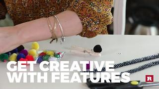 How to make a caterpillar craft with Elissa the Mom | Rare Life - Video