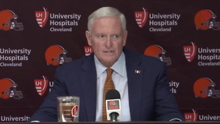 Browns Owner Jimmy Haslam Says Hue Jackson Has A Job In 2018 - Video