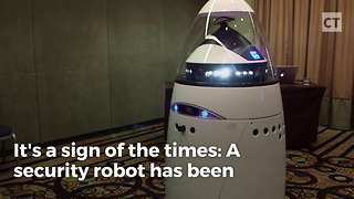 "Robot Accused of ""Discrimination"" - Video"