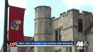 New gun, seatbelt laws take effect in Kansas - Video