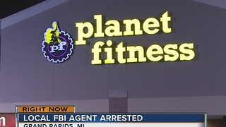FBI employee arrested for shooting at police - Video