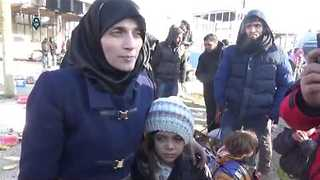 Mother of Syrian Girl Behind Twitter Account Interviewed After Evacuation - Video
