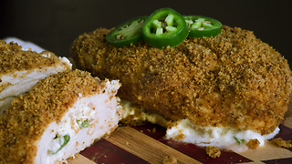 Jalapeño popper chicken recipe