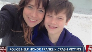 Franklin Police Holds Toy Drive In Honor Of Crash Victims - Video
