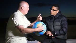 He Believes That The Earth Is Flat And He Gains More Followers By The Minute - Video