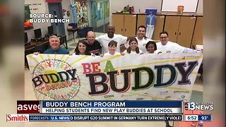 Buddy Benches Program helping students across CCSD - Video