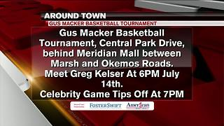 Around Town 7/13/17: Gus Macker Basketball Tournament - Video