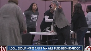 Local group hopes sales tax will fund neighborhood - Video