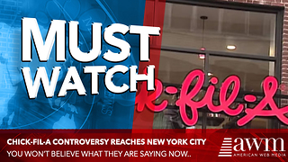 NYC Mayor Tried To Bully Chick-Fil-A Over Their Christian Beliefs, Ends In His Embarrassment - Video