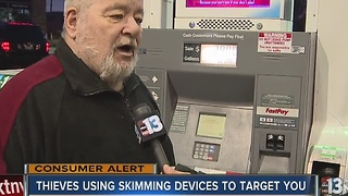 Crooks using credit card skimming devices strike again - Video