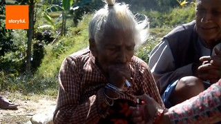 112-Year-Old Woman Has Smoked For 95 Years - Video