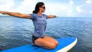 Paddle Board Yoga In The Florida Keys - Video