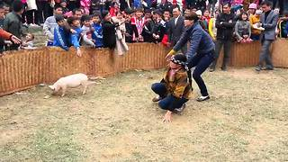 Funny fails video game show 2016 in VietNam - Video