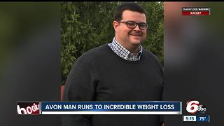 Avon man runs to incredible weight loss - Video
