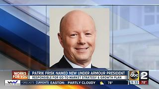 Under Armour names Patrik Frisk as new president - Video