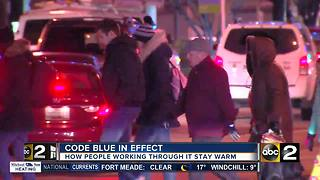 Earning a paycheck under a Code Blue Alert - Video