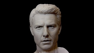 Tom Cruise: How to sculpt a realistic portrait in clay - Video
