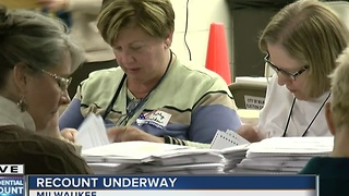 Presidential recount begins in Wisconsin - Video