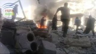 Deadly Strikes Hit Kafr Nabl Town in Idlib Province - Video