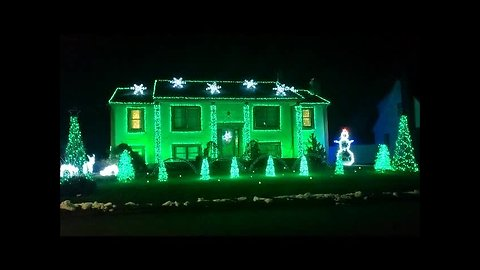Home uses over 33,000 lights to showcase incredible light display