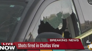 Shots fired in Chollas View - Video