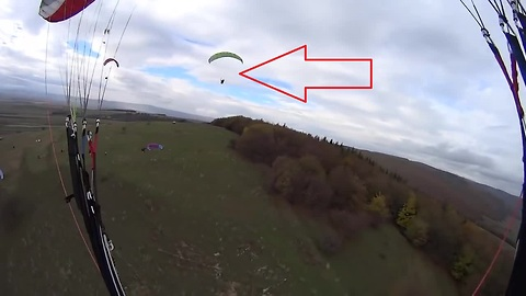 Paragliding gone wrong: Fail compilation