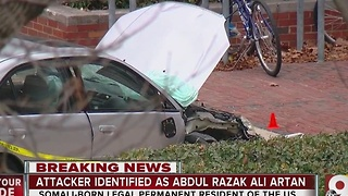 Police: Ohio State student Abdul Razak Ali Artan attacked campus with car, knife - Video